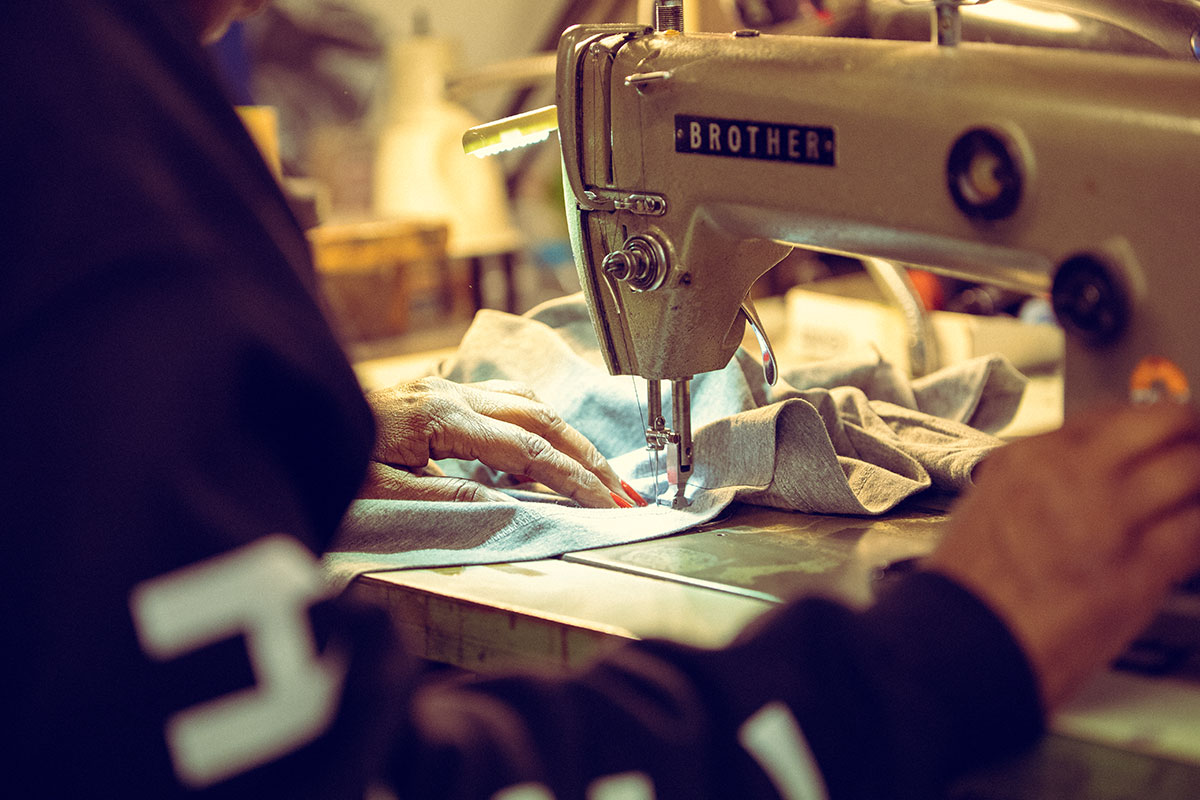 High quality, professional garment embroidery.
