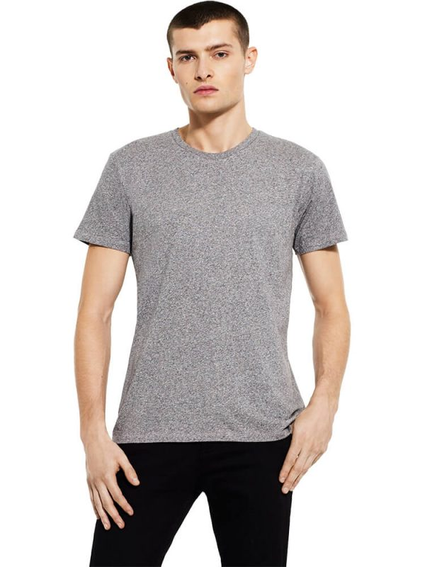 Earth Positive men's special yarn effect t-shirt EP15.
