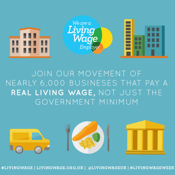 Celebrating the Living Wage Campaign - join the movement