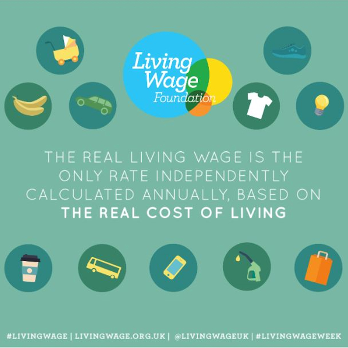 Celebrating the Living Wage Campaign - living