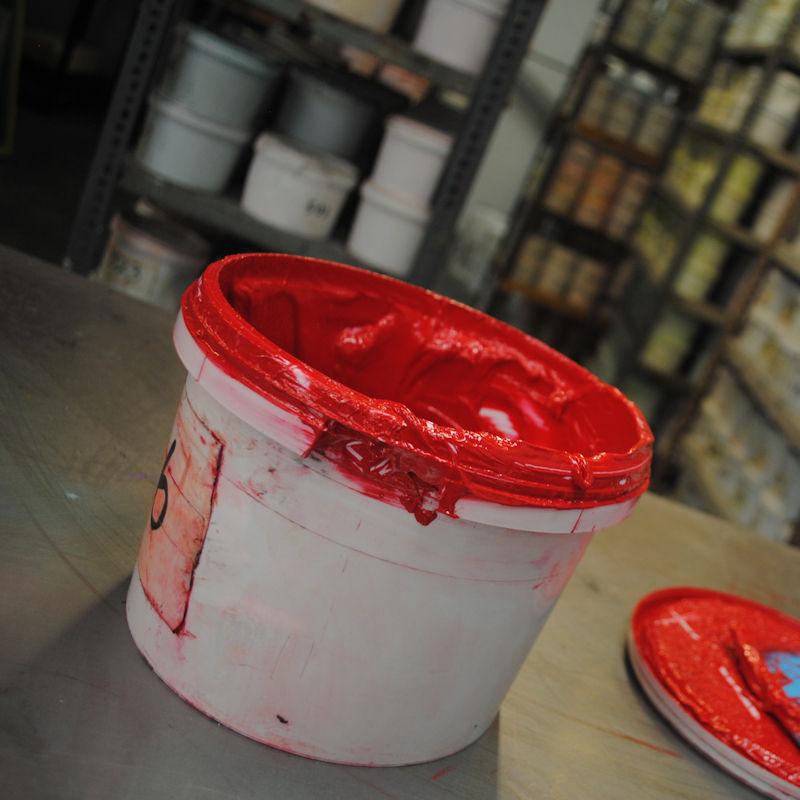 Pantone Colours and Screen Printed Tees - Ink