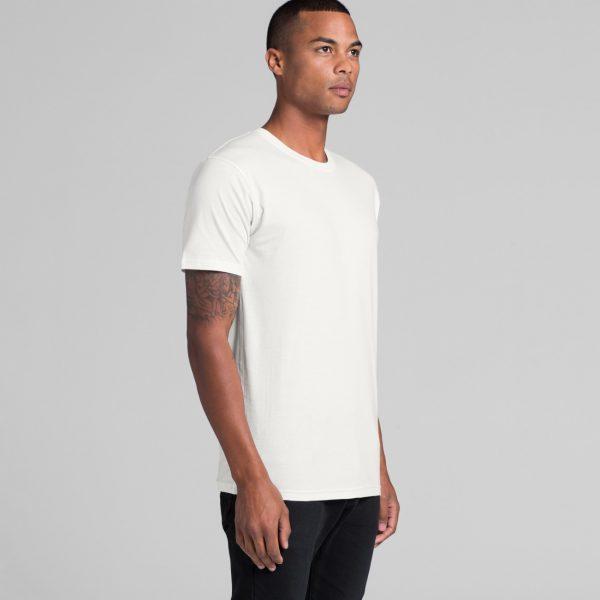 Unisex AS Colour organic t-shirt printing at Fifth Column.