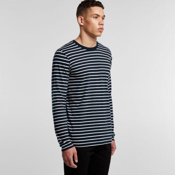 AS Colour Match Stripe long sleeve t-shirt 5031.