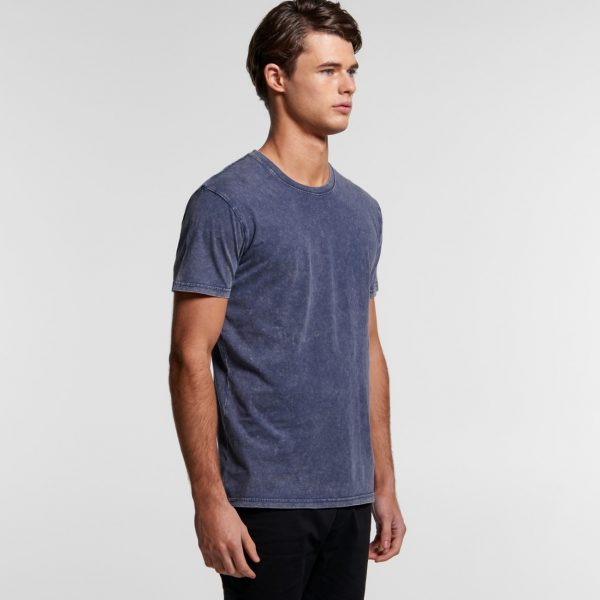 AS Colour mens stone wash staple t-shirt.