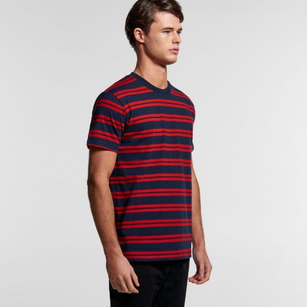 Men's AS Colour classic stripe t-shirts 5044.