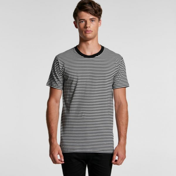 AS Colour 5060 Bowery Stripe tee at Fifth Column printers.