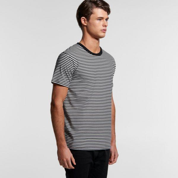 AS Colour mens Bowery Stripe t-shirt 5060.