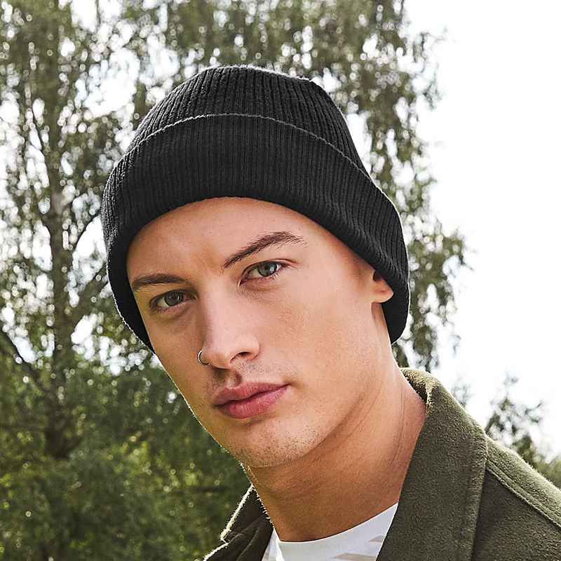 7 Beanies Begging for Embroidery - Beechfield BB50