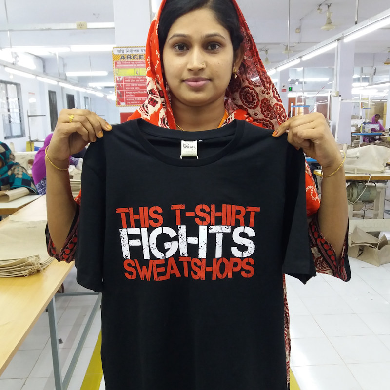 Looking for Ethical T-Shirts? No Sweat at Fifth Column - difference