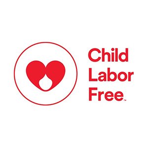 Child labor free logo.