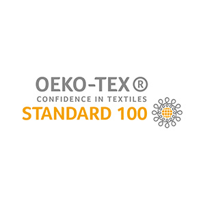 OEKO-Tex Standard 100 logo for confidence in textiles.