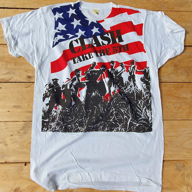 More Classic Punk T-Shirts from the Fifth Column Vault - The Clash