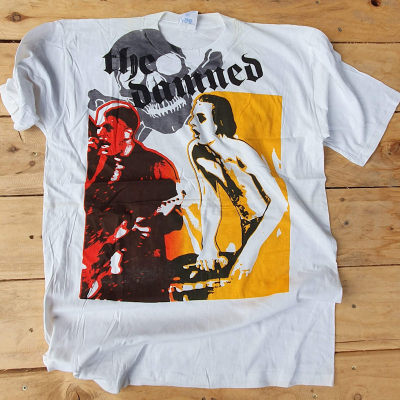 More Classic Punk T-Shirts from the Fifth Column Vault - the Damned