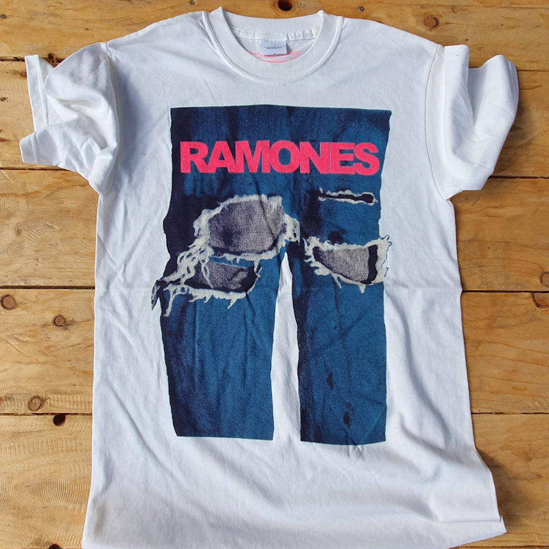 More Classic Punk T-Shirts from the Fifth Column Vault - the Ramones