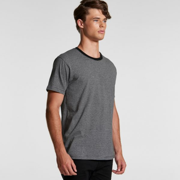 AS Colour Mens Line Stripe Tee 2