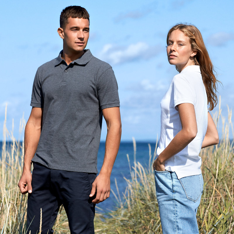 Neutral at Fifth Column - Sustainable Merchandise, Ethical Screen Printing polo shirts