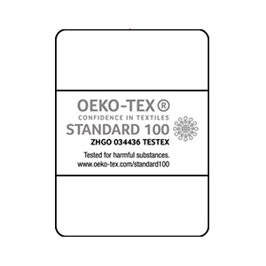 Neutral Certified Responsibility OEKO-Tex Standard 100 logo for confidence in textiles.