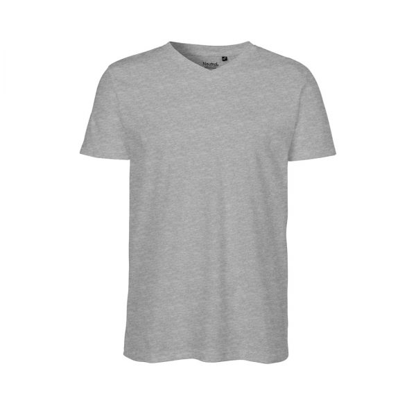 O61005 MENS V-NECK T-SHIRT 1