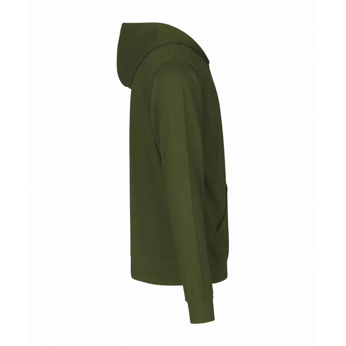 Neutral Jersey Zip Hoodie O62301 2