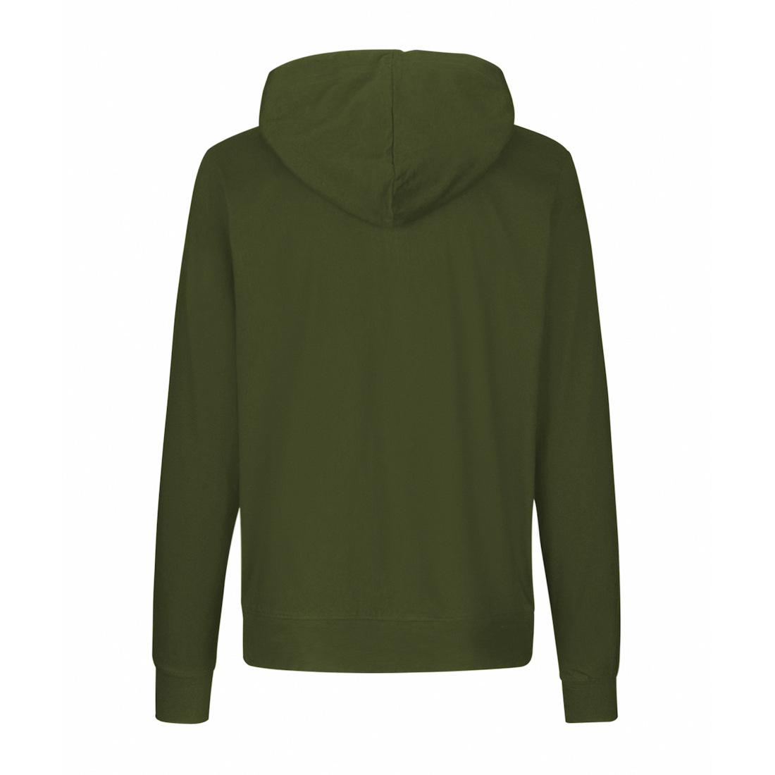 Neutral Jersey Zip Hoodie O62301 3