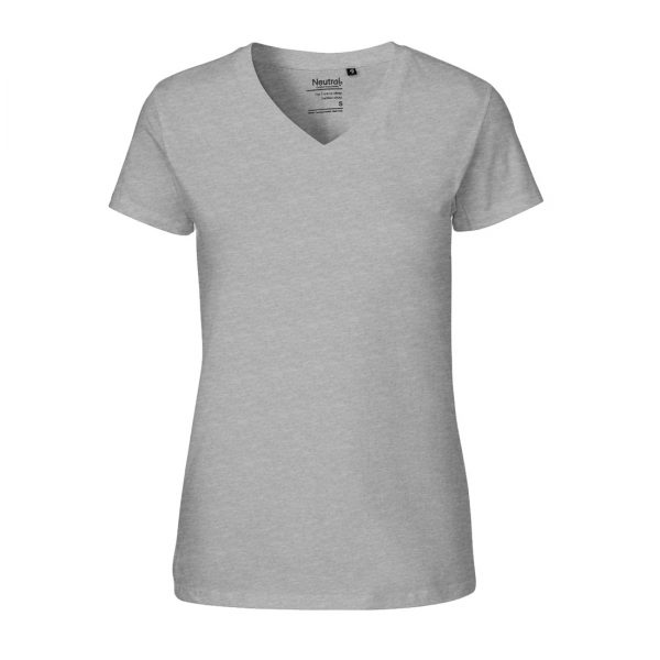 O81005 LADIES V-NECK T-SHIRT 1