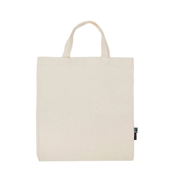 Neutral Short Handle Shopping Bag O90004 1