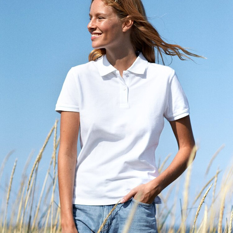 9 of the Best Polo Shirts for Printing and Embroidery - Neutral ladies classic