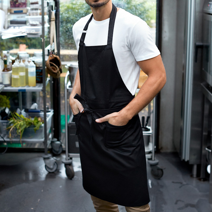 Ethical Workwear - Sustainable Corporate Clothing - Neutral Waiters Apron