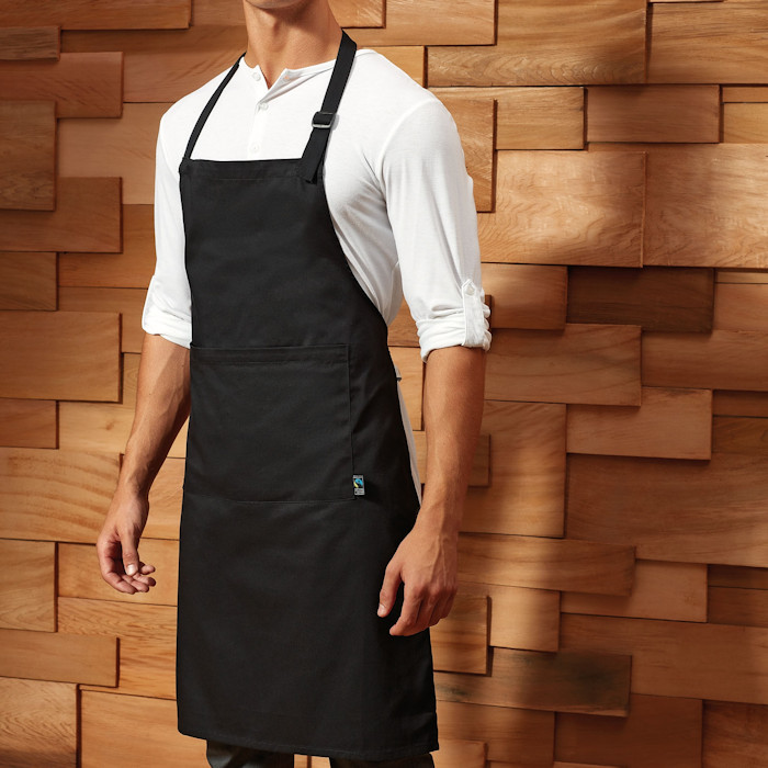 Ethical Workwear - Sustainable Corporate Clothing - Premier Fairtrade Bib Apron