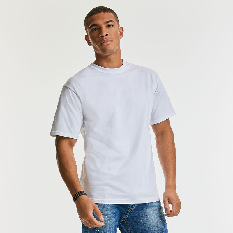 9 of the Best White T-Shirts in UK T-Shirt Printing - Russell J215M