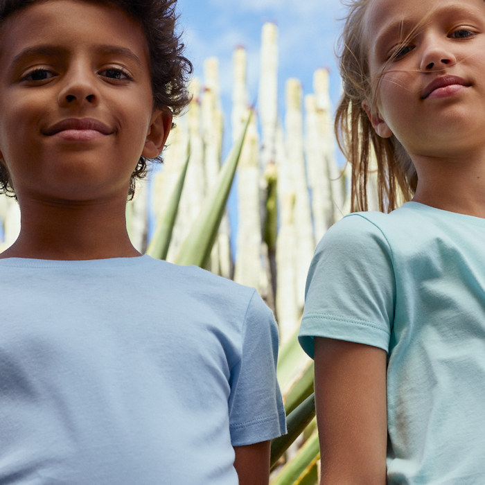 Stanley Stella officially top sustainable clothing brands - kids t-shirts