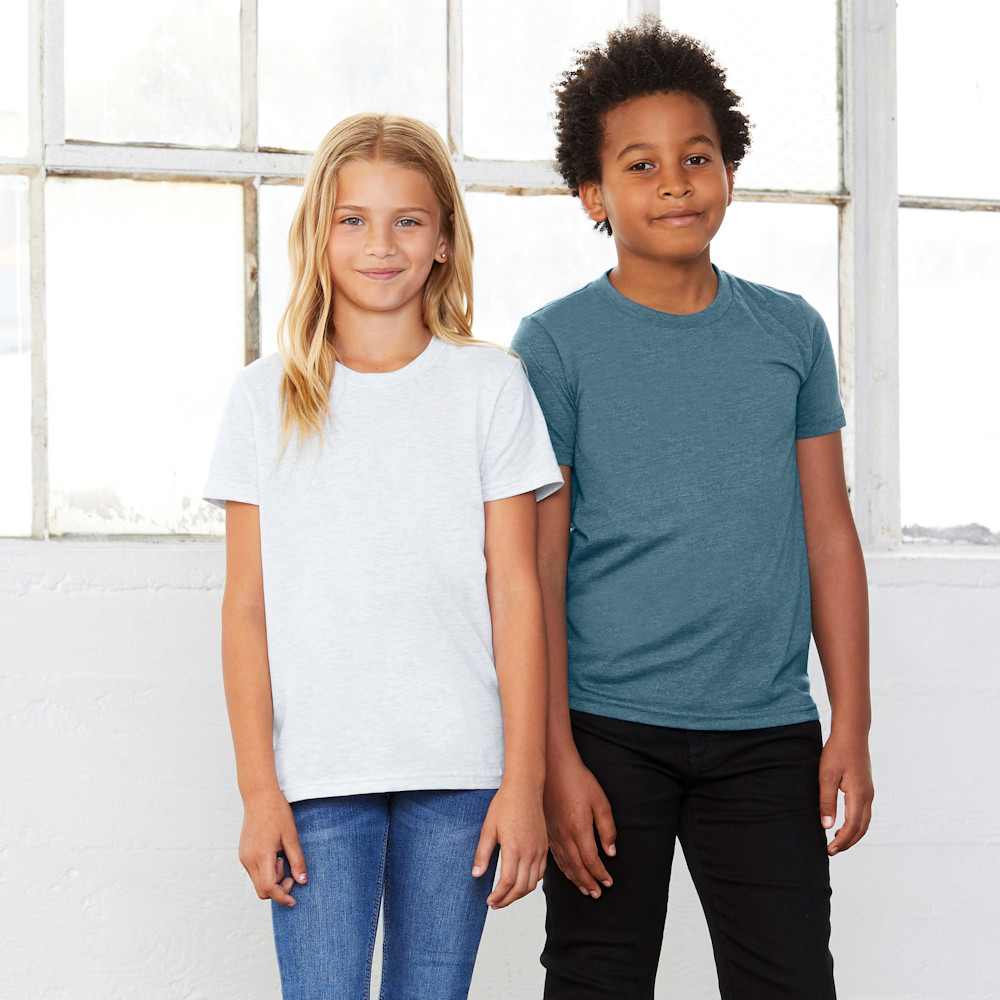 bella canvas 3001y youth jersey t-shirt