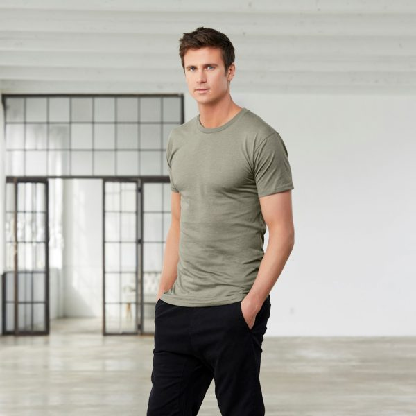 bella canvas 3006 mens long body urban t-shirt