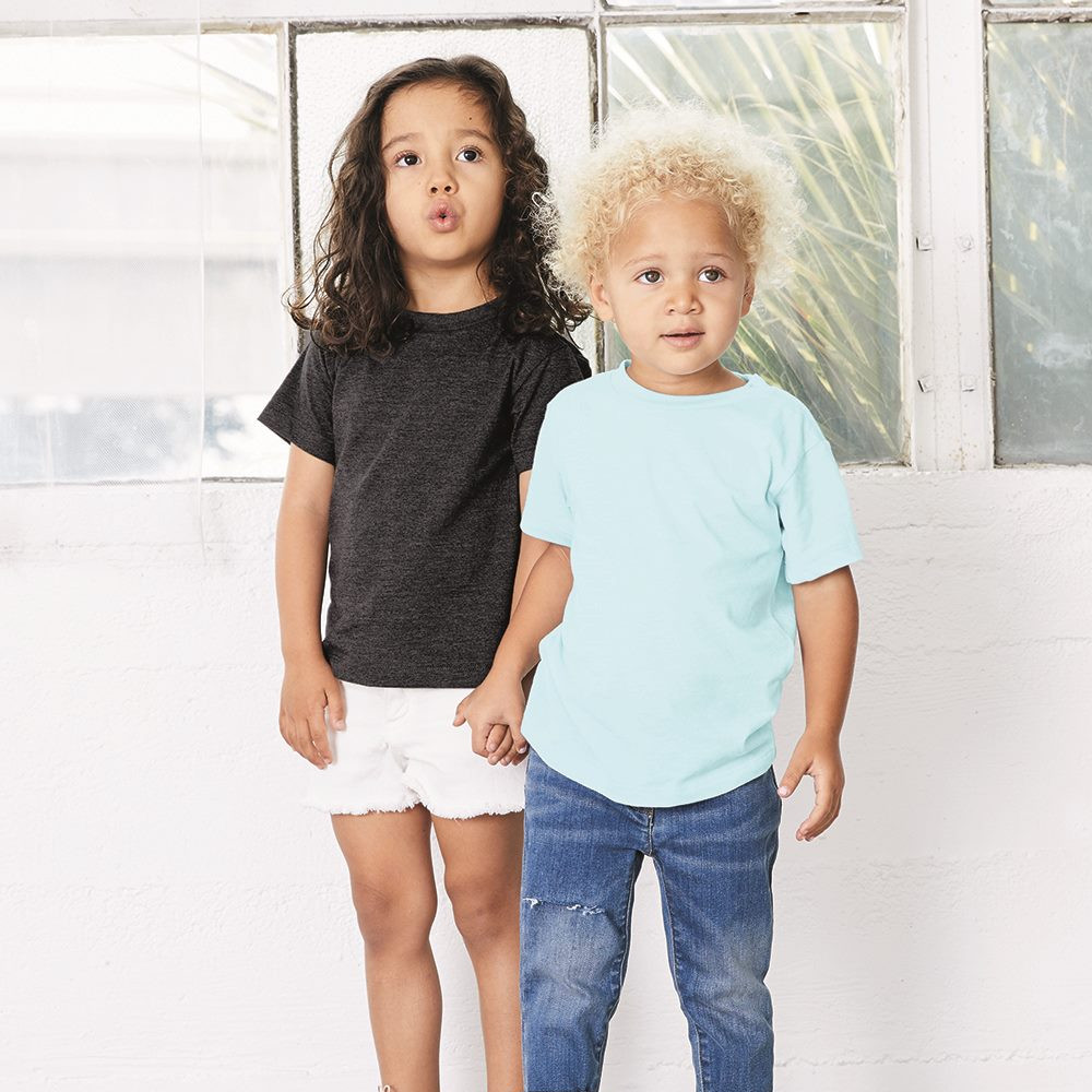 bella canvas 3413t toddler triblend t-shirt