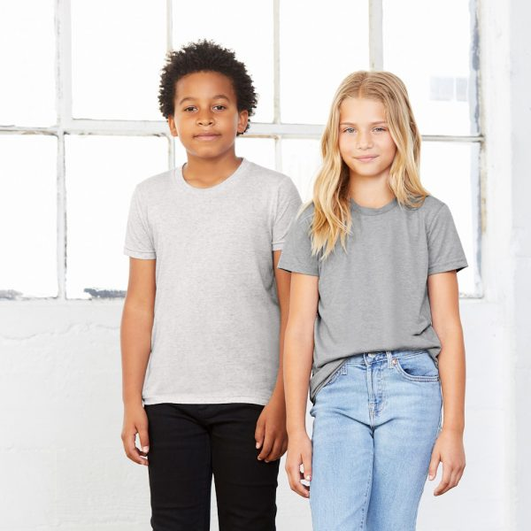 bella canvas 3413y youth triblend tee