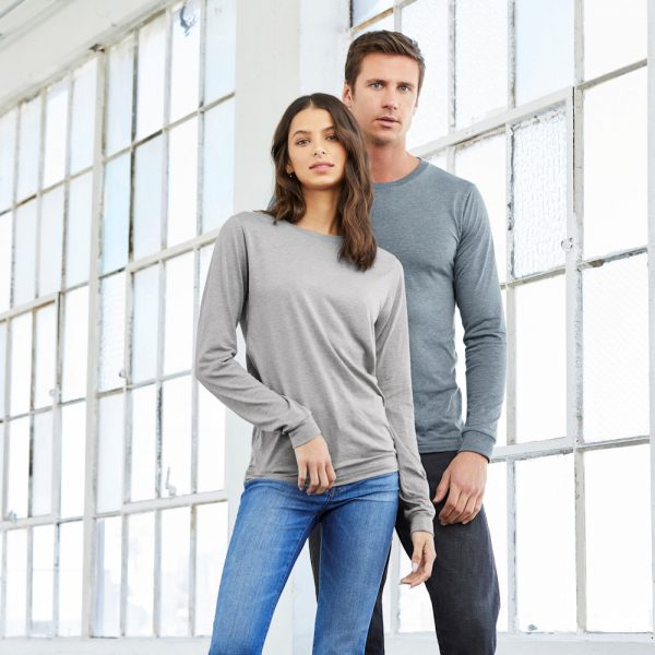 bella canvas 3501 unisex jersey long sleeve t-shirt