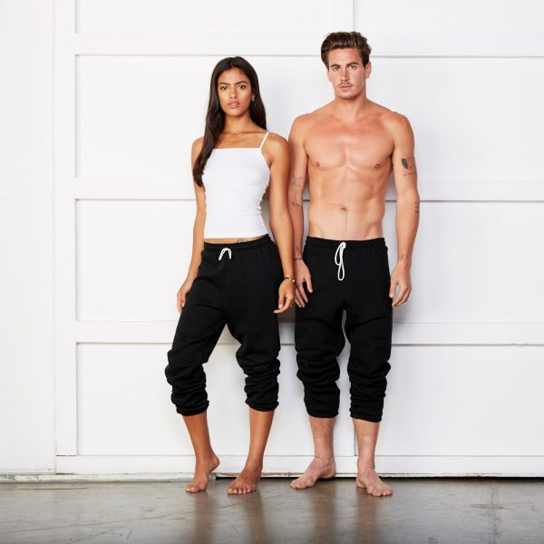 bella canvas 3737 unisex fleece sweat pants