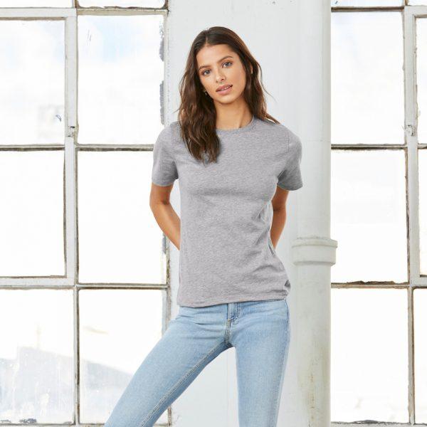 Bella Canvas Relaxed t-shirt printing at Fifth Column.