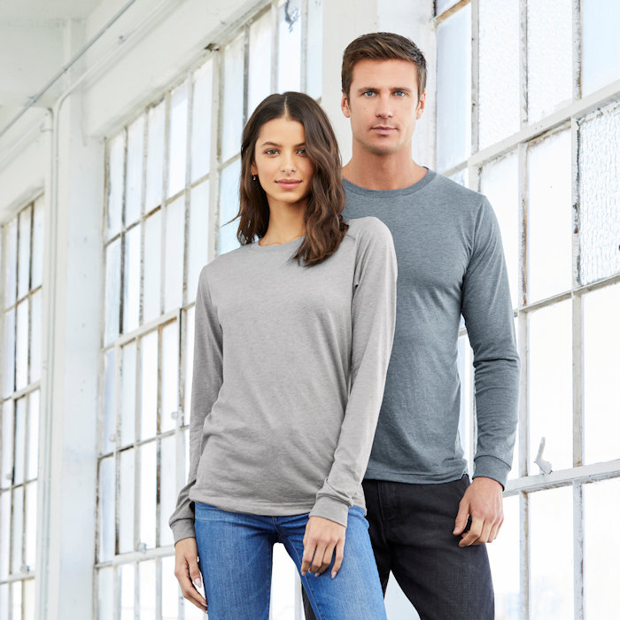 Bella and Canvas at Fifth Column - Long Sleeve