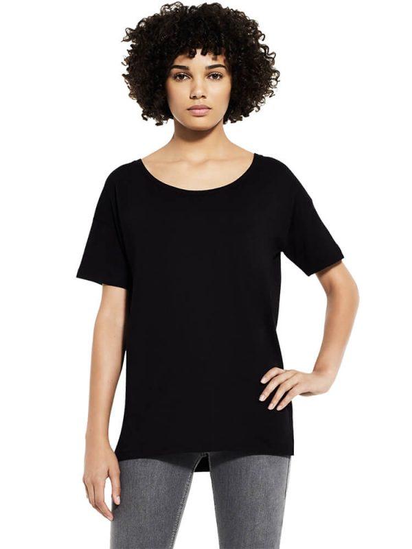 Women's tencel blend oversized t-shirts EP46.