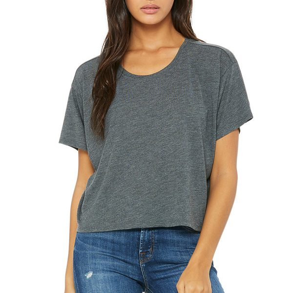 Bella and Canvas womens flowy boxy t-shirt 8881.