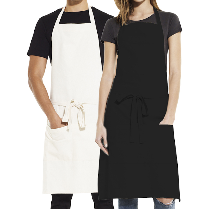 Eco-Friendly Aprons for Printing and Embroidery - Earth Positive unisex apron