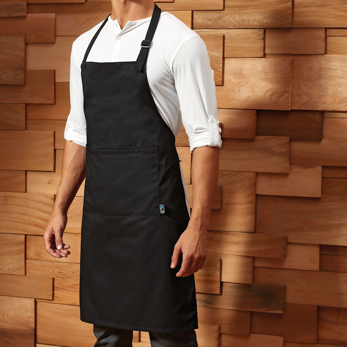 Eco-Friendly Aprons for Printing and Embroidery - Premier Fairtrade apron