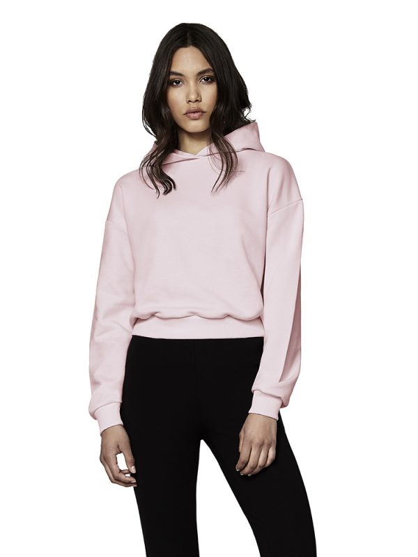 Continental Clothing Women's Cropped Hoody XN57P 2