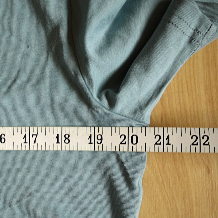 Review Stanley Stella Creator T-Shirt - measured