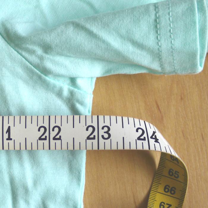 Review Stanley Stella Creator T-Shirt - measurements