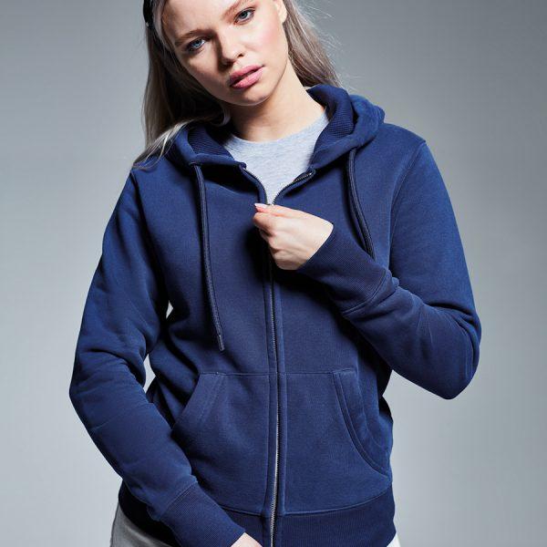 AM004 Anthem women's zip hoodie.