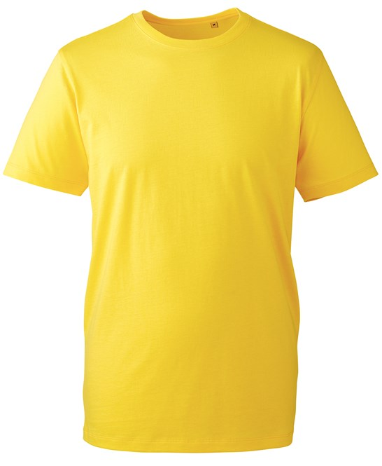 Anthem Organic T-Shirt am010 yellow