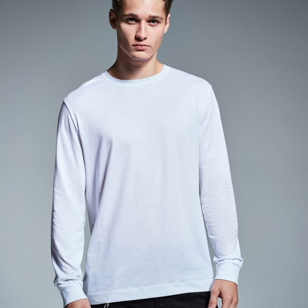 AM011 organic cotton Anthem long sleeve t-shirt.