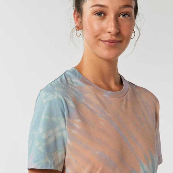 Stanley Stella Spring Summer 2021 Collection - Tie Dye Teal Lilac